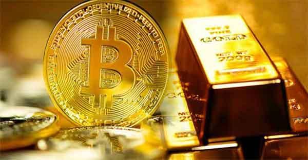 مقایسه بیتکوین و طلا